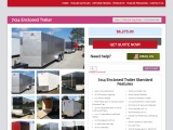 7×14 Enclosed Trailer