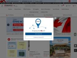 Aosom Canada screenshot