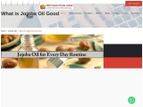 What is Jojoba oil – How To Use it for your Skin and Face