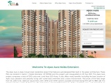 Buy Apex Aura 2BHK and 3BHK Apartment In Sector-1 Greater Noida West