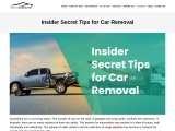 one of the Best car removal tips