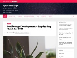 MOBILE APP DEVELOPMENT – STEP BY STEP GUIDE FOR 2021