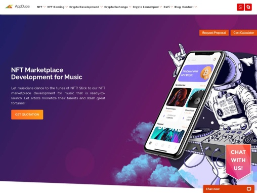 Create an NFT Marketplace for Music and monetize songs
