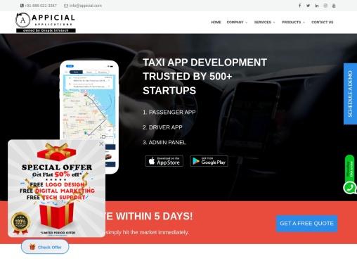 Taxi Application Development Company