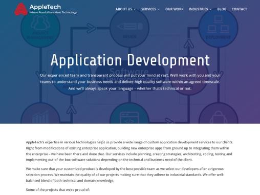 Custom Business Application Development