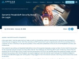 Dynamic PeopleSoft Security Based on Login