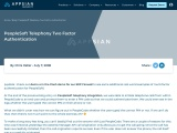 PeopleSoft telephony two factor authentication