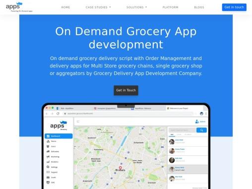 On-Demand Grocery App Like Instacart