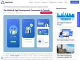 Top Medical App Development Companies in Toronto