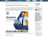 Success in Business According To Astrology – Business Yoga as per Birth Chart