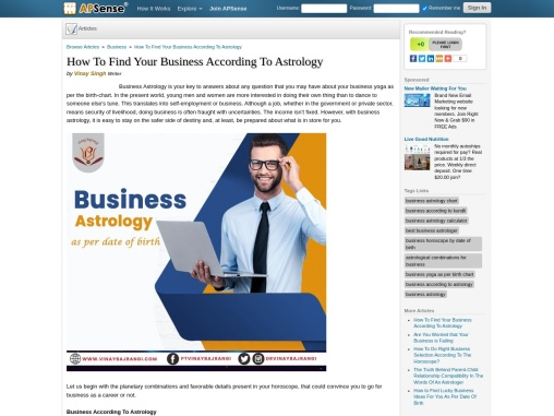 How to Become Success in Business According To Astrology – Business Yoga as per Birth Chart
