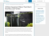 Best Aquarium Filters For Your Lovely Mates [Honest reviews with pros and cons] – AquariumWorlds
