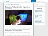 Saltwater Vs Freshwater Aquarium – AquariumWorlds