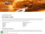 Best Vip Desert Safari in Dubai