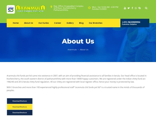 Leading Microfinance And Chit Fund Company in Kerala