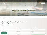 Shipping from Vietnam to India