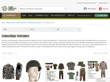 Shop Camouflage Costumes at Army Surplus World