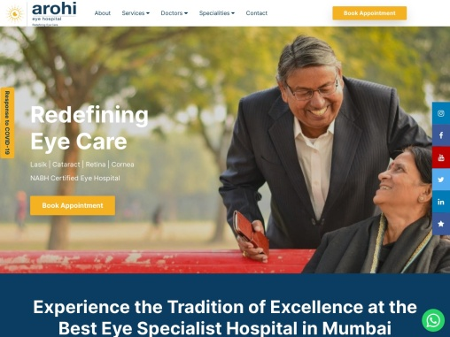 Best eye hospital in mumbai – Arohi Eye Hospital