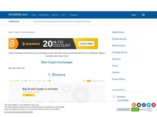 Best Crypto Exchanges – Arrisweb