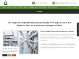 Managed Pharmaceutical storage facilities