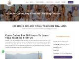 Online 300 Hour Yoga Teacher Training Course