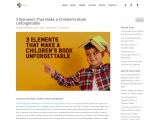 3 Elements That Make a Children's Book Unforgettable – Attilio Art Guardo – Romance Writer