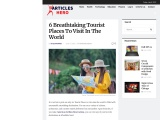 6 Breathtaking Tourist Places To Visit In The World