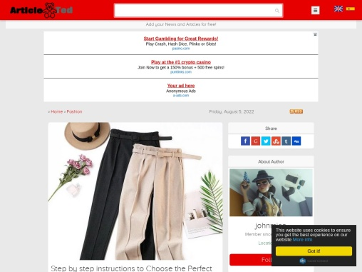 Harem Ladies Trousers Uk – Fast Ways to Boost Trousers Sales