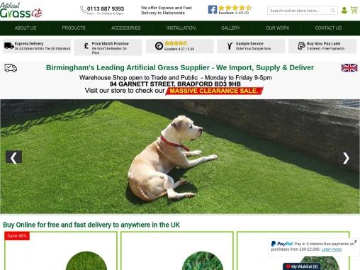 Looking for Artificial Grass Birmingham? Visit Artificial Grass GB!