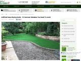 Artificial Grass Buying Guide – 10 Common Mistakes You Need to Avoid!