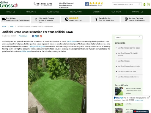 Looking to create a lush space for your family? Buy Artificial Grass Liverpool!