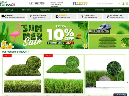 Buy from best Artificial Grass Supplier & give a unique appeal to your lawn!
