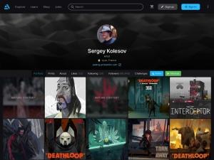 ArtStation - Sergey Kolesovのスクリーンショット