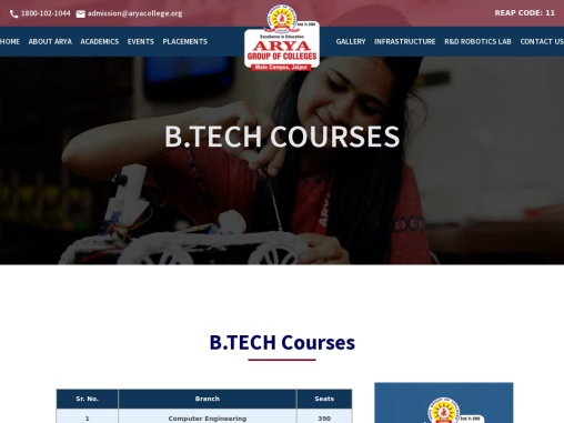 Top b tech College in Rajasthan | Best b tech College in Rajasthan