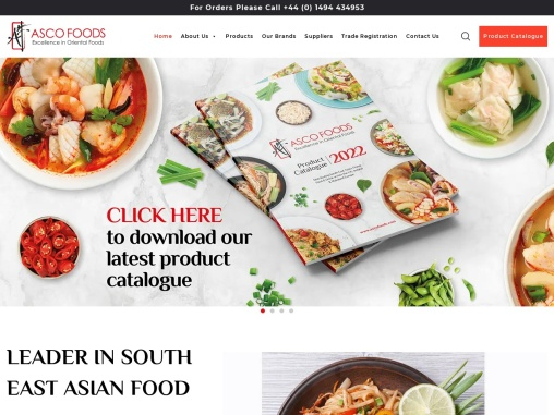 UK based Wholesale Food Supplier specialising in Southeast Asian, Filipino, Thai & Vietnamese foods