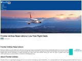 10% Discount On Frontier Airlines Reservations 1-800-350-0516