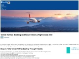 Turkish Airlines Booking |Ticket Reservations