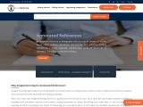 Personalized Annotated Reference Writing Service