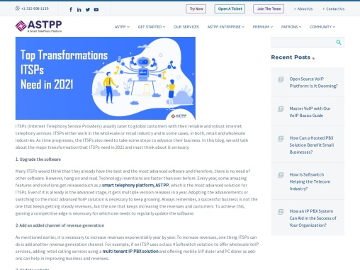 Top Transformations ITSPs Need in 2021