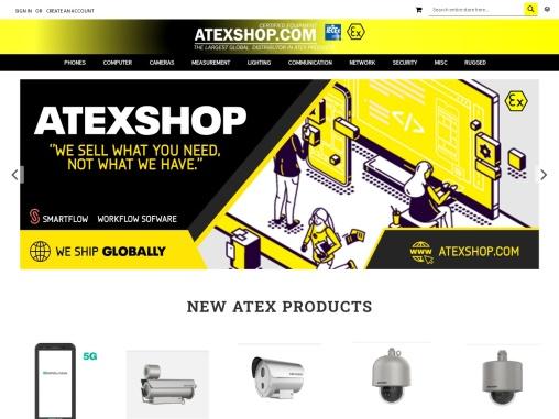Atexshop – specialised in selling telecommunication worldwide