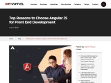 Why You Should Use AngularJS For Front End Development