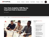 The Role of Data Analytics in Business
