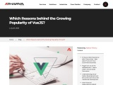 Must Known Facts Behind the Growing Popularity of VueJS