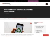 Ways that IoT can help with sustainability