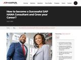 Boost Your Career Growth as SAP HANA Consultant