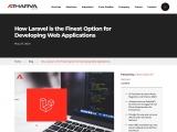 Laravel Is Good For Web Development, Why?