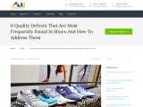 Experts Classify Quality Defects In Shoes
