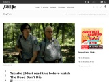 7starhd | Must read this before watch The Dead Don't Die