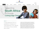 A Total Approach SA | Supporting South Africa to Provide Cutting Edge Therapy