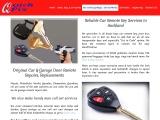 Locksmith Auckland | Garage Remote Repair | Car Remote Key